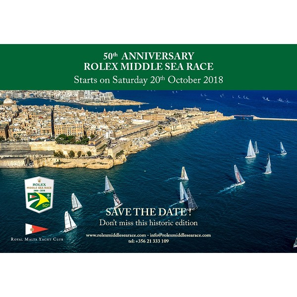 50th Rolex Middle Sea Race